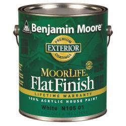 Увеличить Benjamin Moore Flat Acrylic House Paint 105
