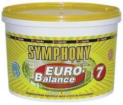 Увеличить Краска интерьерная Symphony (Симфония) Euro-balance 7 (Евро-баланс 7)