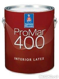 Увеличить Sherwin Williams ProMar 400 (Шервин Вилиамс ПроМар400 интерьерная краска)