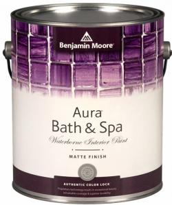 Увеличить Benjamin Moore Aura Bath and Spa Matte Finish 532(Бенжамин Мур краска матовая для ванных комнат)
