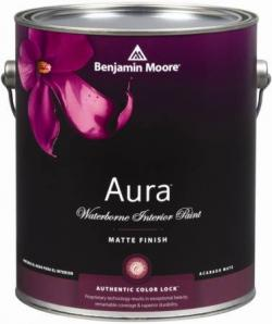 Увеличить Benjamin Moore Aura Waterborne Interior Paint 522(Бенжамин Мур Аура 522)