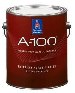 Увеличить А-100 латексная фасадная краска Sherwin Williams