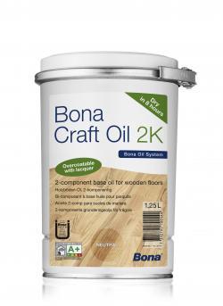 Увеличить  Масло Bona Craft Oil 2K (Крафт Ойл ) д/дер полов Нейтральный