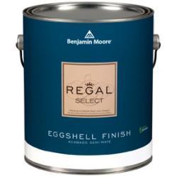Увеличить Banjamin Moore Regal Select Eggshell  (Бенджамин Мур Краска яйчная скорлупа) 549