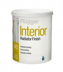 Увеличить Краска для радиаторов и труб отопления Flugger Interior Radiator Finish (Флюггер Интерьер Радиатор Финиш)