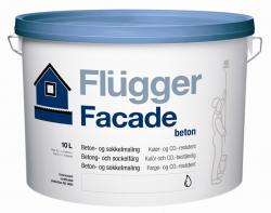Увеличить Фасадная акриловая краска Flugger Facade Beton (Флюггер Фасад Бетон)